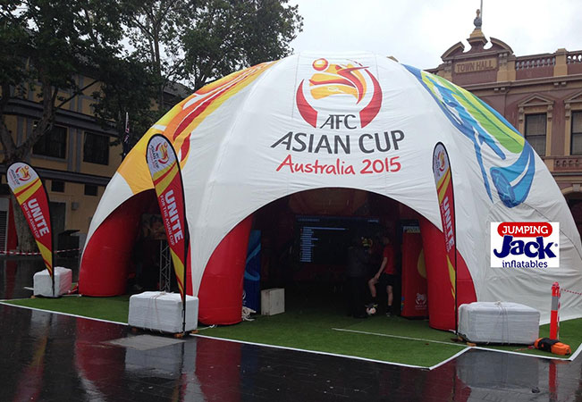 asian cup dome outside
