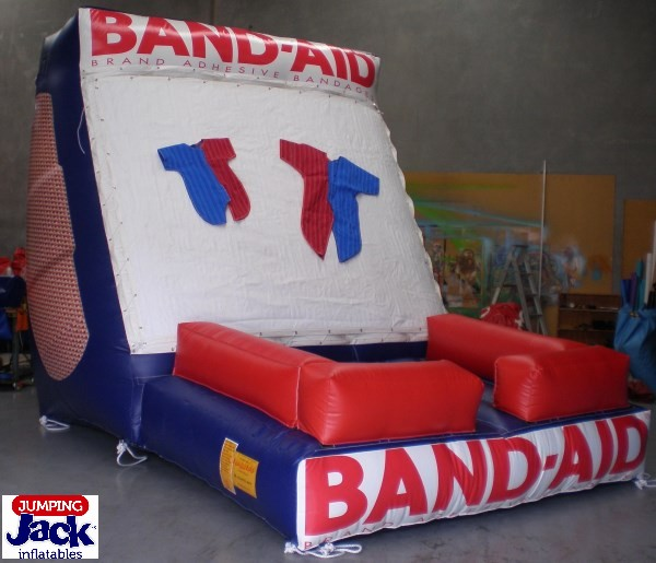 inflatables water slide band aid