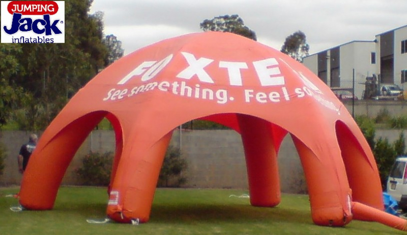 foxtel inflatable marquee
