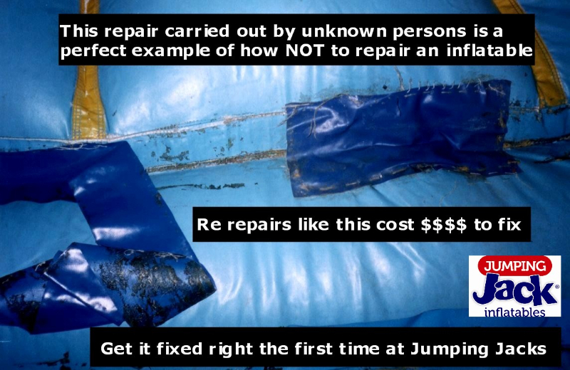 Jumping Castle Repair